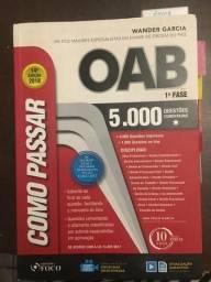Livro - OAB 14ª edição - 1ª fase - 5.000 questões