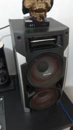 Aparelho de som c/ 5 caixas