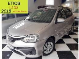 Toyota - Etios - 1.5 XS - Automático - Único Dono - Baixo km - 2018