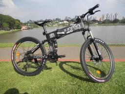 Bike Eletrica de aluminio Dobrável e-bike