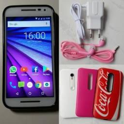 Motorola G3 16gb Com Acessórios Somente Vendas