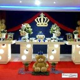 Mesas para decoração festa infantil