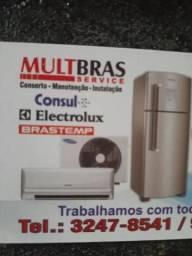 Conserto de geladeiras maquinas de lavar , orçam. grátis em alguns bairros de sg e niteroi