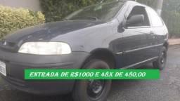 Fiat palio 2004 com entrada de 1000 financio com score baixo - 2004