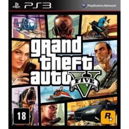 PS3 - GTA V - Mídia Física - com Mapa - Ac. Cartões 3x. sem Juros