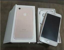 Vendo iPhone 7 rose 128g pouco usado