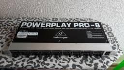 Powerplay retorno de ouvido 8 canais