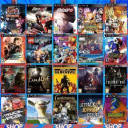 Jogos para o hd do PS3 passo cartão leia a descrição