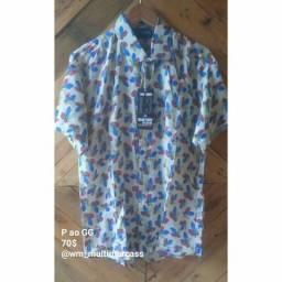 Camisa florais