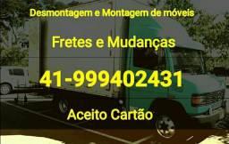 Caminhão baú fechado 41 99940-2431 - 2018