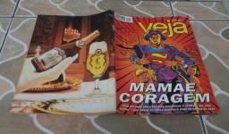 Revista Veja 10 De Outubro De 1995. Ano 28 nº 41. Mamãe Coragem.