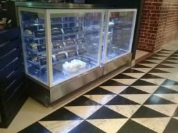 Balcão refrigerado vitrine