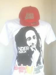 Snapback ( RIP CURL) & T-shirt (UNDER BLACK)
