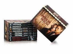 Box prison break dvd's originais + o resgate final