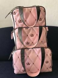 Conjunto de bolsas da grão de gente