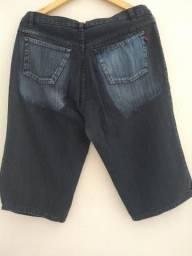 Bermudão jeans