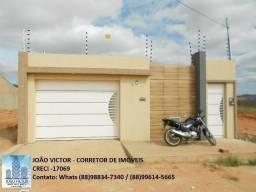Alugo casa no Conviver, bairro Aeroporto, em Juazeiro do Norte - CE