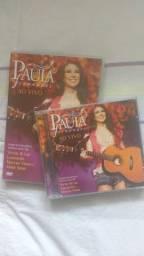 CD + DVD Paula Fernandes Ao Vivo em São Paulo - Completo