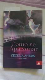"""Livro - """"Como Se Apaixonar - Cecelia Ahern"""" - Novo"""