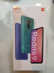 **Extraordinário** Redmi 9 4 câmeras da Xiaomi.. Novo Lacrado com Garantia e Entrega