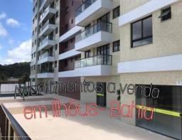 Apartamento para Venda em Ilhéus, jardim do joia, 3 suítes, 2 banheiros, 1 vaga
