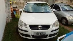 VW polo 2007 1.6 flex branco inteiraço!!!