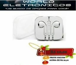 Fone de ouvido P2 estéreo universal
