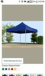 Tenda 3x3 sanfonada