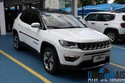 Jeep Compass Limited Automatico 2017 Completo Top Couro Caramelo Apenas 88.900 Ljc - 2017