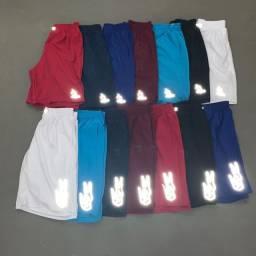 Shorts refletivos várias marcas
