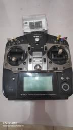 Rádio controle futaba T8J + combustível