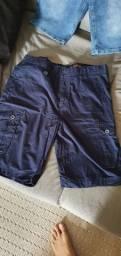 Bermuda jeans masculina 46
