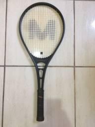 Raquete de tênis sem riscos ou ralados aceito cartao