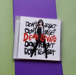 Cd: Demi Lovato Don't Forget