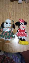 Lote ursinhos de pelúcia + Boneca + petutinho lacrado