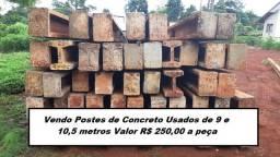 Vendo Postes de Concreto Usados