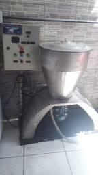 Liquidificador industrial em aço inox, capacidade 100 litros, Maxton
