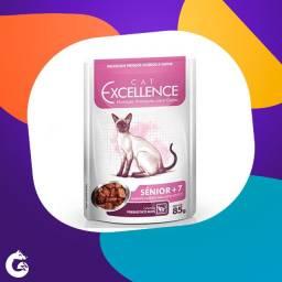 Ração Selecta Cat Excellence Sachê para Gatos Sênior +7