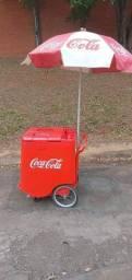 Carrinho de mão Coca Cola