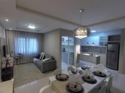 Apartamento inteiro mobiliado, móveis e eletrodomésticos, 3 quartos com suíte e 2 Vagas