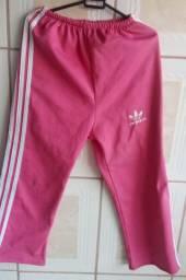 Calça de frio rosa feminina