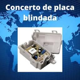 Concerto de Placa de Maquina de Lavar Blindada