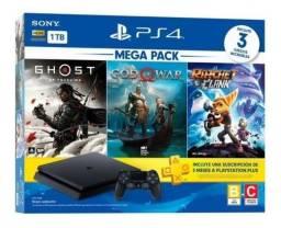 Título do anúncio: PS4 Onyx Mega Pack 1TB