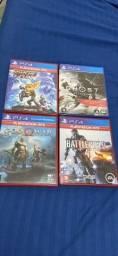 Título do anúncio: Jogos PlayStation 4