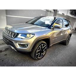 Jeep Compass Limited Diesel Teto High-Tech Aprox 25k em opcionais