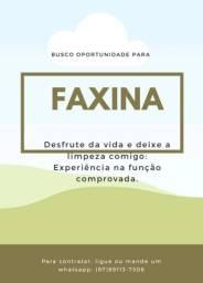 Título do anúncio: Faxinas