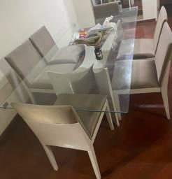 Título do anúncio: Mesa de jantar 6 lugares