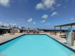 Título do anúncio: Excelente Flat na Praia de Cabo Branco, com Piscina na Cobertura!<br><br>