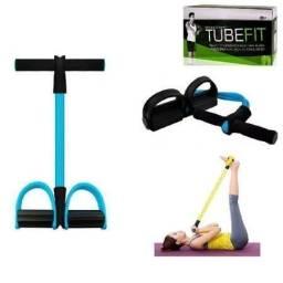 Título do anúncio: Elastico para exercícios com suporte para pés
