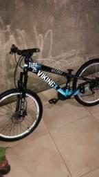 Título do anúncio: Bicicleta Viking com freio hidráulico shimano top